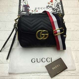 0057afd984 Serial with Box Gucci Marmont Bag Gucci Sling Bag GG Bag Gucci Shoulder Bag  GG Bag
