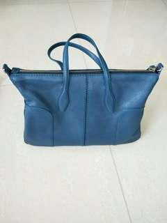 TODS Blue leather handbag