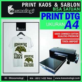 Print kaos couple