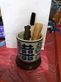 新年大平賣八折,清末民初完美筆筒
