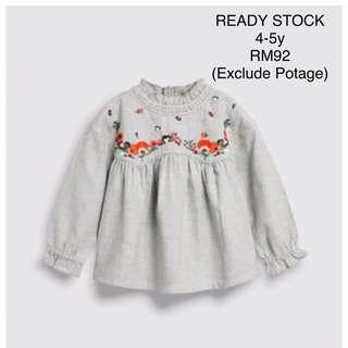 NEXT UK - Blouse (READY STOCK) 4-5y