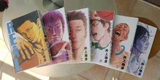 REAL 1-6 (Author of Slam Dunk)