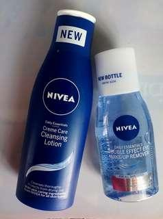 Nivea Cleansing Lotion and make up remover
