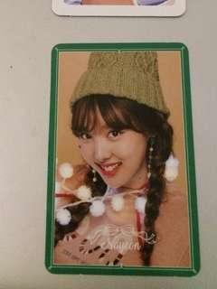 Twice nayeon merry happy