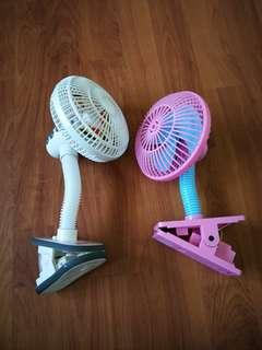 Stroller clip fan (snapkis and lucky baby)
