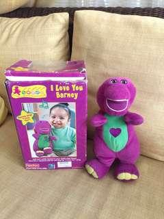 I Love You Barney (Singing toy)