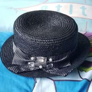 COZY 黑色草帽