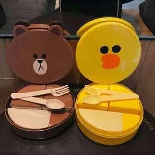LINE Friends lunch box container
