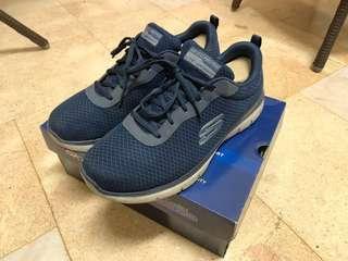 正版 SKECHERS 運動鞋 52125NVY-100