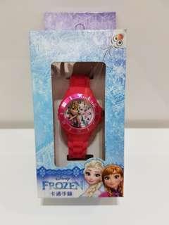 🚚 Disney 冰雪奇缘女錶