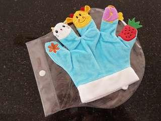 Hand Fingers Glove Puppets for Baby Toddler Kid