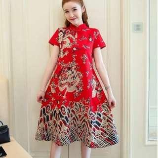 [CNY 2019 Collection] Pre Order [M - 4XL] Regular - Plus Size Cheongsam Dress