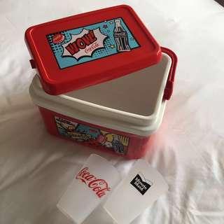Coca Cola 7L limited edition ice storage box
