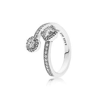 Authentic Pandora Abstract Elegance Ring