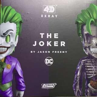 BNIB Mighty Jaxx 4D XXRAY Joker