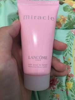 Lancôme miracle perfumed body lotion