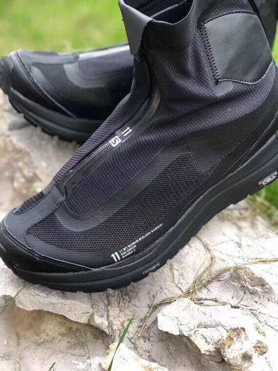 11 by BBS X Salomon sport shoe black