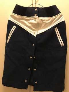Sacai x Nikelab limited collection wool skirt