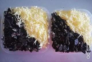 Vanila cheese oreo , coklat cheese oreo