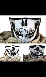 HARLEY STYLE BREATHABLE HALF MASK