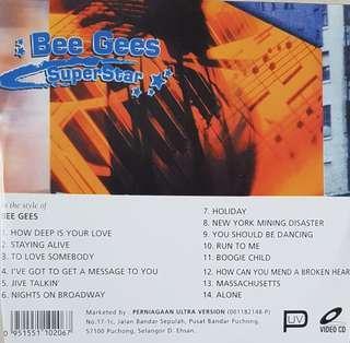 Karaoke VCD Bee Gees