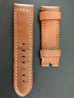 Original Panerai Brown Leather Strap 24mm