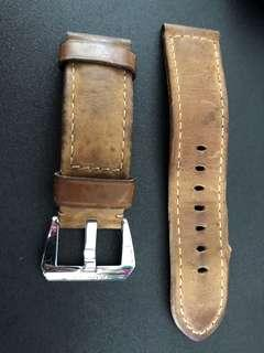 Original Panerai Distressed Leather Strap