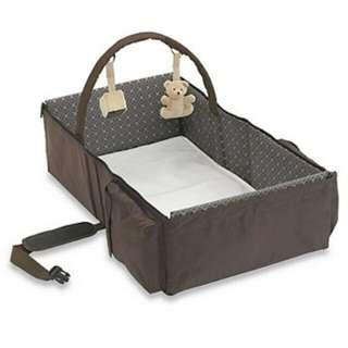 Authentic Eddie Bauer Travel Bed / Portable Cot / Bassinet