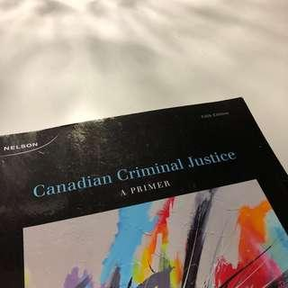 CANADIAN CRIMINAL JUSTICE (5th Ed.)