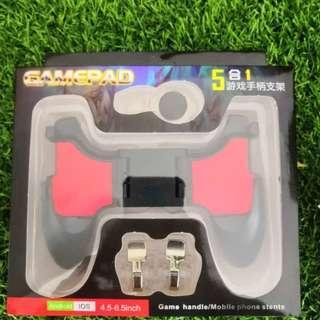 PUBG gamepad 5 in 1 untuk pemborong