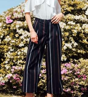 Fashmob Solange Culottes in Navy