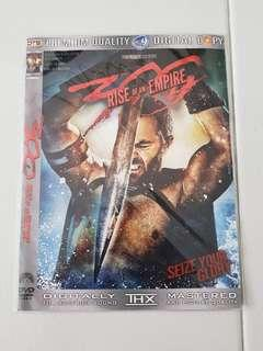 300 Rise of an Empire DVD movie