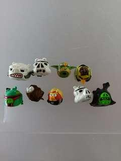 Star Wars Angry Birds Figure/Toy/Pencil popper