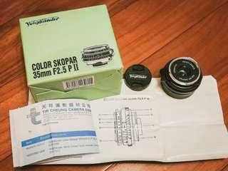 Voigtlander 35mm f2.5 for Leica M nikon z6 z7 canon Sony a7 可用~