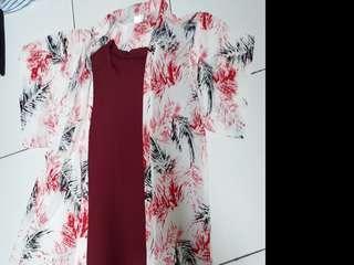 2 set baju pantai berrybenka