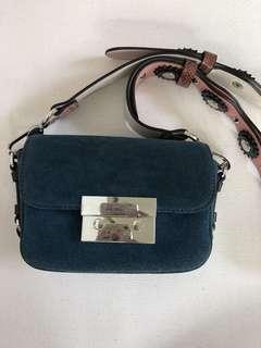 Zara Suede Mini Bag