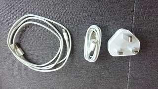 Apple iPhone Lightning 叉電線 及 插頭