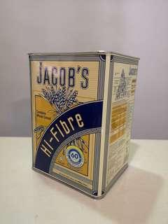 Jacob's crackers 60 years limited edition empty tin