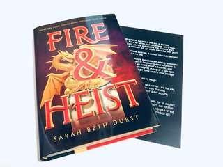 [Signed] Fire & Heist - Sarah Beth Durst (FairyLoot Exclusive)
