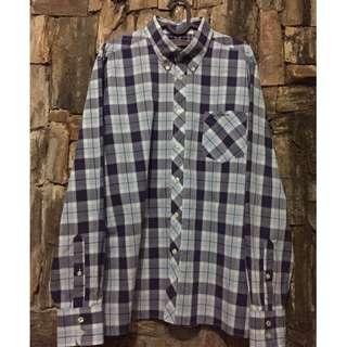 Ben Sherman Checkered LS Casual Shirt