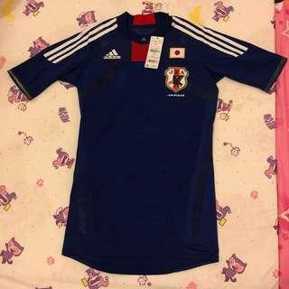 JAPAN ADIDAS TECHFIT AUTHENTIC PLAYER ISSUE HOME 2011/12 FOOTBALL JERSEY SHIRT NEW O SIZE