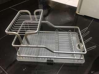 Moving Out Sales: Stainless Steel Dish Drainer (ONLY AVAILABLE TI LL 1st Jan'19)