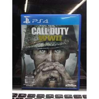 PS4 Call of Duty WWII World War 2 中文版
