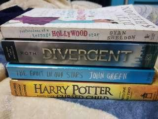 Harry Potter and the Cursed Child | TFIOS | Divergent | COTHS