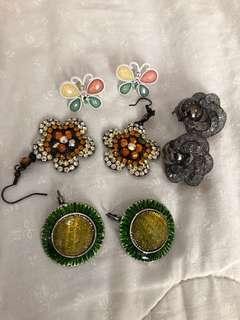 Preloved ear rings
