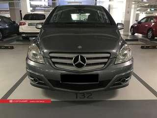 Mercedes Benz B-Class B180 (New 10-yr COE)