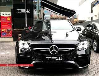 Mercedes Benz E-Class E63 S AMG 4MATIC