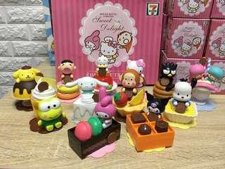 7-11公仔 Hello Kitty & Friends Sweet Delight
