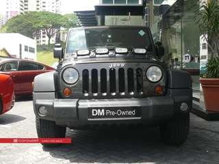Jeep Wrangler Unlimited Rubicon 3.8A (COE till 09/2028)