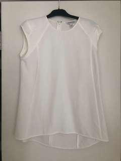 Country Road | Womens White Top | Size Small